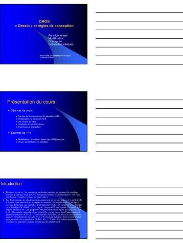 8. Introduction aux règles de dessin