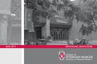 ADVANCING OUR FUTURE 2010-2011 - University of Wisconsin ...