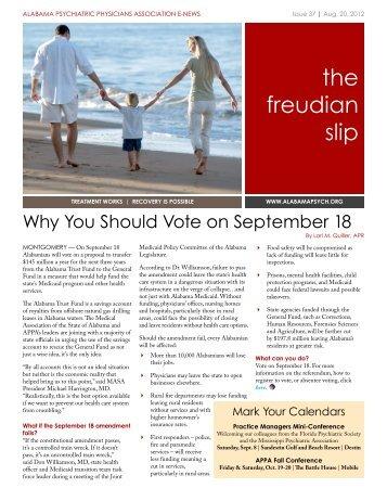 the freudian slip - APPA