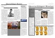 Katzen immer beliebter Sensation am Oberen ... - Leonhard Röger