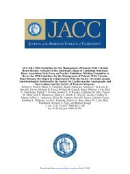 doi:10.1016/j.jacc.2006.05.021 2006;48;1-148 J. Am. Coll. Cardiol ...