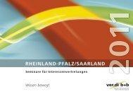 RHEINLAND-PFALZ/SAARLAND