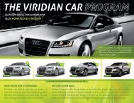 THE VIRIDIAN CAR