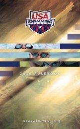 2010 Rule Book - USA Swimming