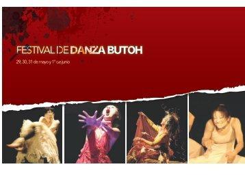 Festival Butoh en Ex Teresa - Coordinacion Nacional de Danza