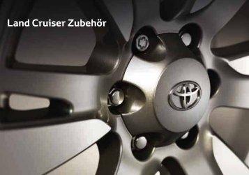 Land Cruiser Zubehör - Toyota