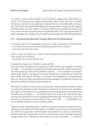 """Prof. Dr. Fritz Neumeyer """"Bild und Bau. Zur Logik ... - Architekturtheorie"""