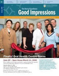Finally! Oral Health Centre Opens - UBC Dentistry