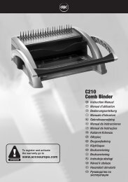 C210 Comb Binder - Net
