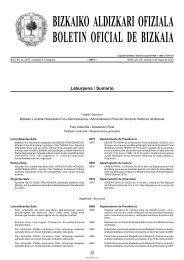 bizkaiko aldizkari ofiziala boletin oficial de bizkaia - Lekeitioko Udala
