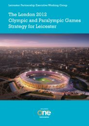 The London 2012 Olympic and Paralympic Games Strategy for ...