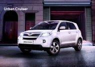 Urban Cruiser - Toyota