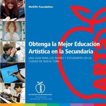Obtenga la Mejor Educación Artística en la Secundaria
