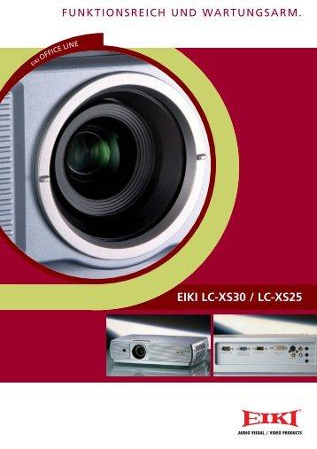 EIKI LC-XS30 / LC-XS25 - Petri Konferenztechnik