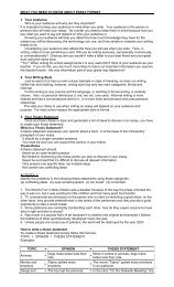 WHAT YOU NEED TO KNOW ABOUT ESSAY FORMAT 1. Your ...