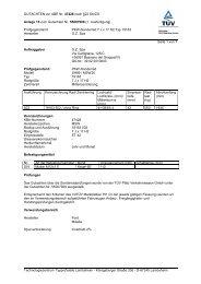 GUTACHTEN zur ABE Nr. 47426 nach §22 StVZO Anlage 15 zum ...