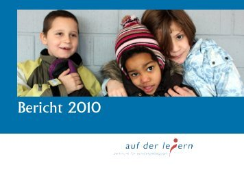 Jahresbericht 2010 -  Zentrum für Sonderpädagogik Auf der Leiern