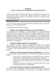 Beszámoló a 2011. november 22-24.-én Bilbaóban tartott ...