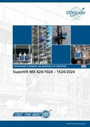 Superlift MX 624/1024 – 1524/2024 - Böcker