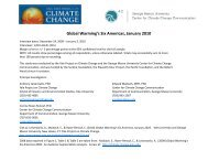 Global Warming's Six Americas, January 2010 - Center for Climate ...