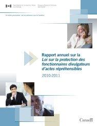 Version PDF (259 ko) - Secrétariat du conseil du trésor
