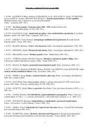 1 Prírastky v knižnici ÚEt SAV za rok 2009 I. 10 968 – KLIPEROVÁ ...