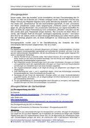 Ehrungsregularien - Kreis-Chorverband Bad Kreuznach