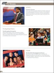 Learn more about the television choices currently ... - Royal Jordanian