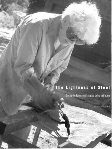 The Lightness of Steel - Cite Magazine