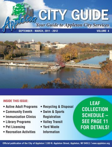 CITY GUIDE - City of Appleton