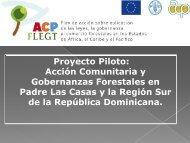 Acción Comunitaria y Gobernanzas Forestales en Padre ... - CEDAF