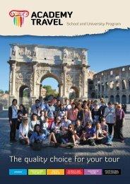 Download - School Tours - Academy Travel