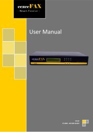 eezeeFAX User Manual as PDF-File