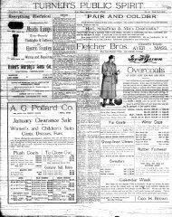 Turner's Public Spirit: vol. 49, no. 18 (6 January 1917)