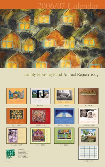 Family Housing Fund Annual Report 2005