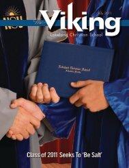 Class of 2011 Seeks To 'Be Salt' - Lakeland Christian School