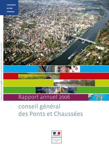 Le rapport annuel 2006 du CGPC - cgedd