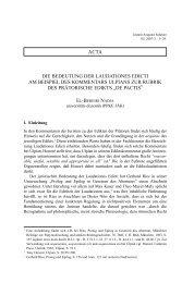 die bedeutung der laudationes edicti am beispiel des ... - IAS