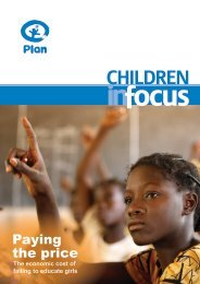 Children in Focus, Volume I, May 2008 - Basic Education Coalition
