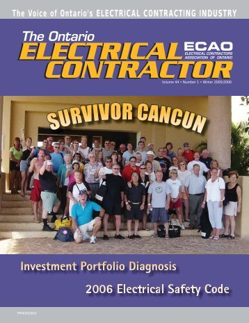 VOR CANCUN - Electrical Contractors Association of Ontario