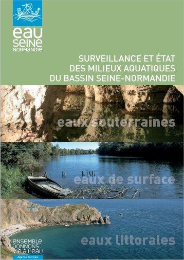 surveillance et état des milieux aquatiques du bassin seine-normandie