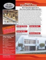 BUY DIRECT! - Chevelle Parts, El Camino Parts @ OPGI.com