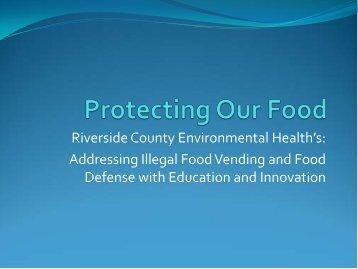 NEHA Powerpoint Presentation - Riverside County Department of ...