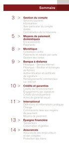 Conditions tarifaires Professionnels , Associations et Entreprises - CIC - Page 3