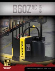 Brochure / Technical Guide - Hyster Company