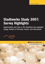 Stadtwerke Study 2007: Survey Highlights - Schweiz