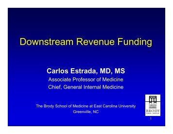 Downstream Revenue Funding - SGIM