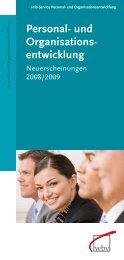 Personal- und Organisations- entwicklung