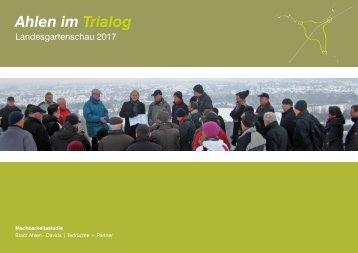 Ahlen im Trialog - Landesgartenschau 2017 in Ahlen
