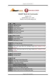 Commands v.5.1 - Smart-Bus Home Automation